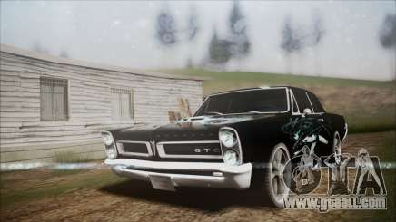 Pontiac GTO Black Rock Shooter for GTA San Andreas