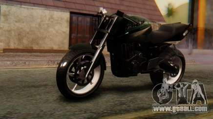 Bajaj Rouser 135 Stunt for GTA San Andreas