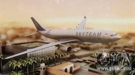Airbus A330-200 Garuda Indonesia Sky Team for GTA San Andreas
