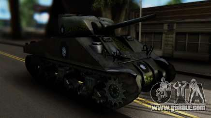 M4 Sherman Gawai Special for GTA San Andreas