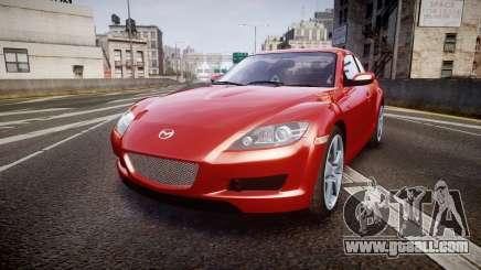 Mazda RX-8 2006 v3.2 Advan tires for GTA 4