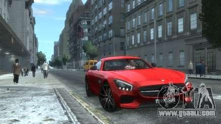 Mercedes-Benz SLS AMG GT 2015 for GTA 4