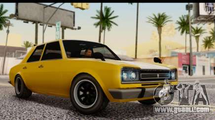 GTA 5 Vulcar Warrener SA Style for GTA San Andreas