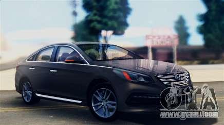Hyundai Sonata 2015 for GTA San Andreas