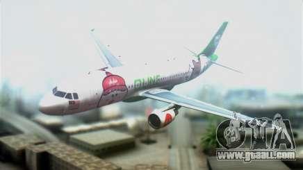 Airbus A320-200 AirAsia Line for GTA San Andreas