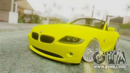 BMW Z4 Construction Ens for GTA San Andreas