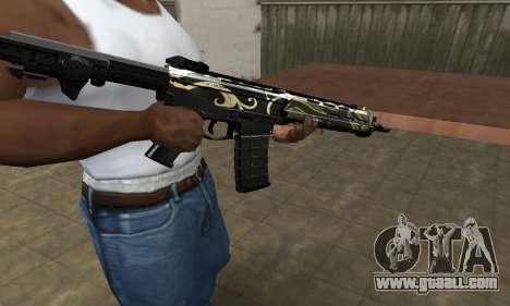 Kaymay M4 for GTA San Andreas