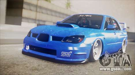 Subaru Impreza WRX STI B. O. Construction for GTA San Andreas