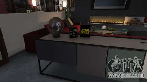 GTA 5 Star Wars Posters for Franklins House 0.5 ninth screenshot