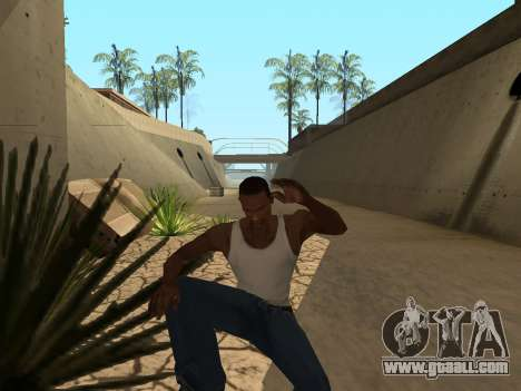 Ped.ifp Animation Gopnik for GTA San Andreas seventh screenshot