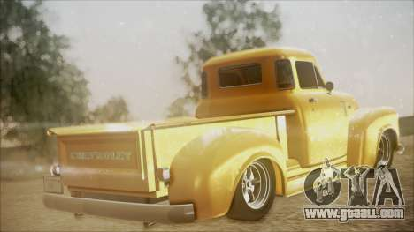 Chevrolet 3100 Truck 1951 for GTA San Andreas left view
