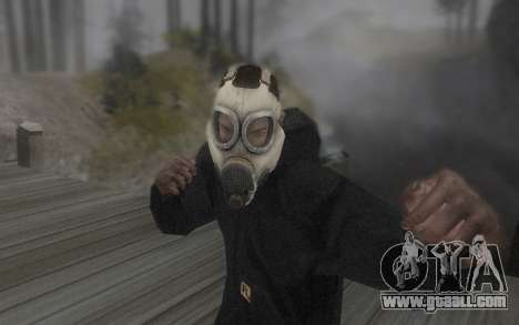 The mask is from DayZ Standalone for GTA San Andreas