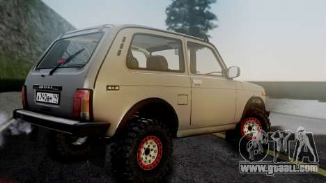 VAZ 2121 Niva 4x4 for GTA San Andreas left view