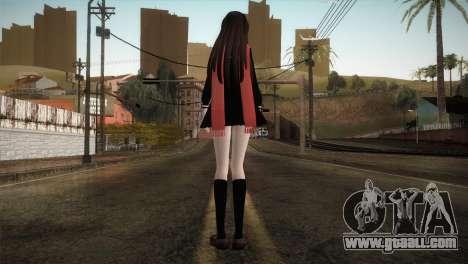 Tateyama Ayano (Kagerou Project) for GTA San Andreas third screenshot