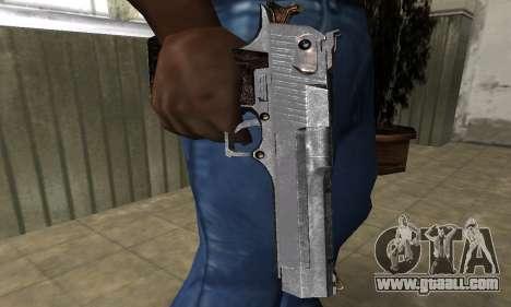 Old Deagle for GTA San Andreas second screenshot