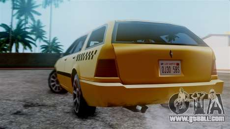 Stratum Taxi for GTA San Andreas left view