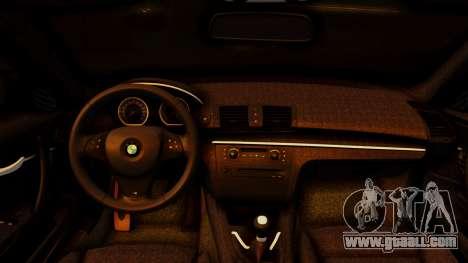 BMW 1M E82 v2 for GTA San Andreas right view