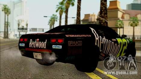 GTA 5 Bravado Gauntlet Redwood HQLM for GTA San Andreas left view