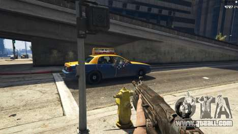 GTA 5 Gears of War Lancer 1.0.0 third screenshot