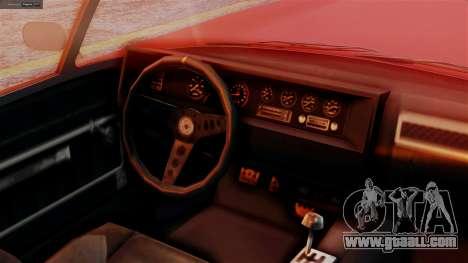 GTA 5 Invetero Coquette BlackFin IVF for GTA San Andreas right view
