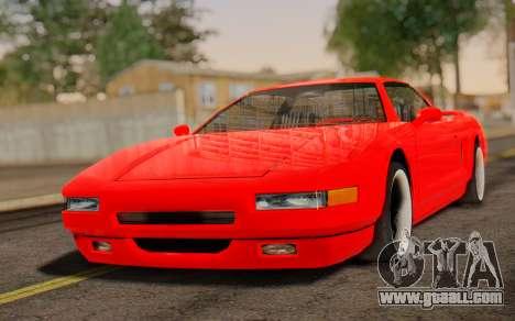 Infernus Hamann Edition New Wheels for GTA San Andreas
