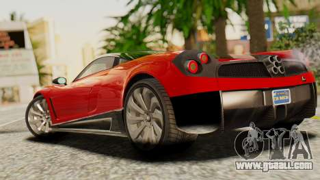 Pegassi Osyra for GTA San Andreas left view