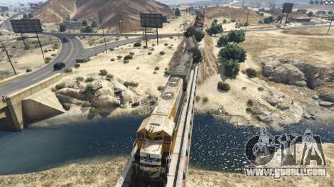 GTA 5 Improved freight train 3.8 third screenshot