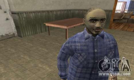 Rifa Skin Second for GTA San Andreas third screenshot