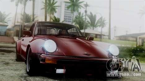 Porsche 911 Turbo (930) 1985 Kit C for GTA San Andreas interior