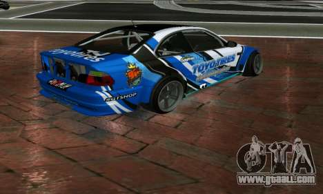 BMW M3 E46 ToyoTires GT-SHOP for GTA San Andreas left view