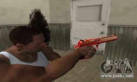 Death Red Deagle for GTA San Andreas second screenshot
