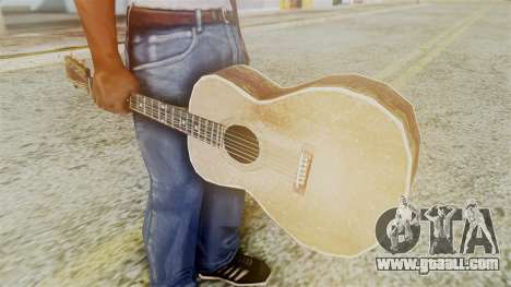 Red Dead Redemption Guitar for GTA San Andreas second screenshot