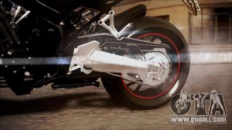 Honda CB650F Pretona for GTA San Andreas right view