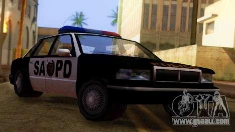 Police SA Premier for GTA San Andreas