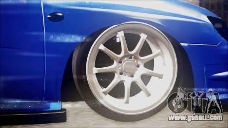 Subaru Impreza WRX STI B. O. Construction for GTA San Andreas back left view