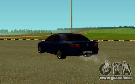 Opel Omega B for GTA San Andreas back left view
