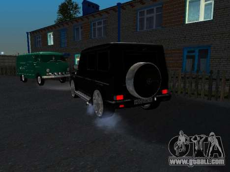 Mercedes-Benz G 320 for GTA San Andreas back view