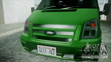 Ford Transit SSV 2011 for GTA San Andreas right view