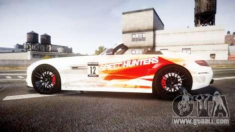 Mercedes-Benz SLS AMG for GTA 4 left view