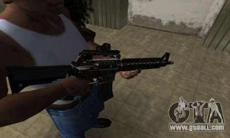 Brighty Leopard M4 for GTA San Andreas