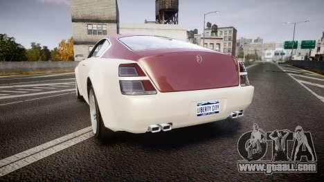 GTA V Enus Windsor for GTA 4 back left view