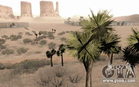 A copy of the original trees for GTA San Andreas forth screenshot