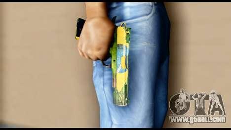 Brasileiro Pistol for GTA San Andreas third screenshot