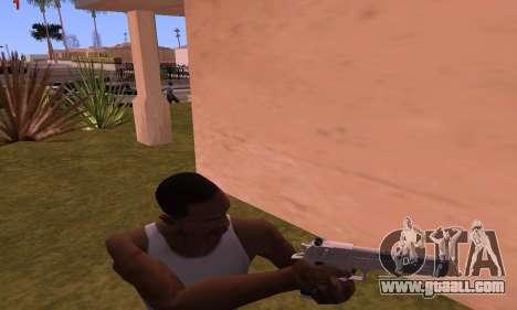 Deagle from Battlefield Hardline for GTA San Andreas third screenshot