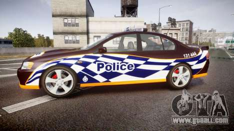 Ford Falcon BA XR8 Highway Patrol [ELS] for GTA 4 left view
