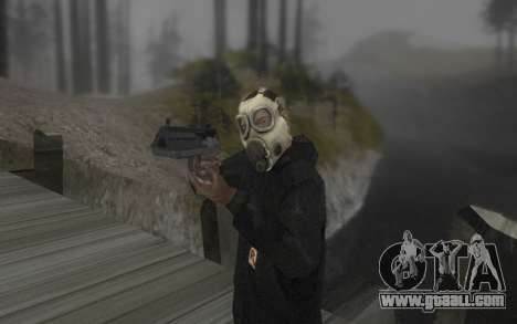 The mask is from DayZ Standalone for GTA San Andreas second screenshot