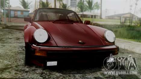 Porsche 911 Turbo (930) 1985 Kit C for GTA San Andreas back view