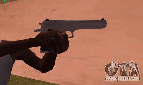Deagle from Battlefield Hardline for GTA San Andreas