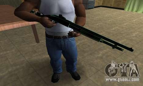 Green Guy Shotgun for GTA San Andreas