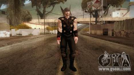 Thor Custom Skin for GTA San Andreas second screenshot